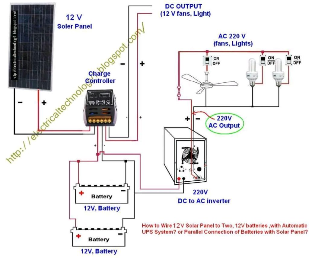 Electrical Technology Automatic Ups System Wiring Wiring Diagram For